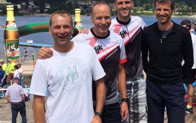 DJK-Triathleten beim Mastersfinale im Team auf Platz 4