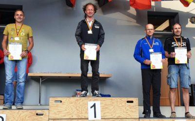 Deutsche Meisterschaften im Ultratrail 2019 beim 78 km Keufelskopf-Trail DJK-Läufer Erwin Bauer 2. und Jörg Schreiber 3. in ihren Altersklassen