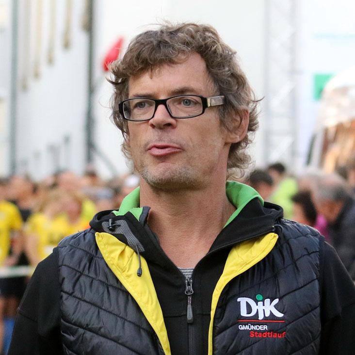Dirk Häber der Triathlon und Ausdauersportabteilung DJK Schwäbisch Gmünd