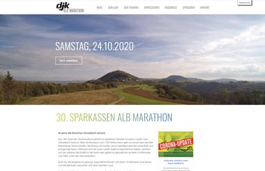 Alb Marathon Corona-Update und neue Website