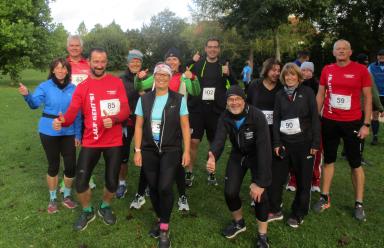 Halbmarathon als Abschluss der Aktion Lauf Geht's 2020